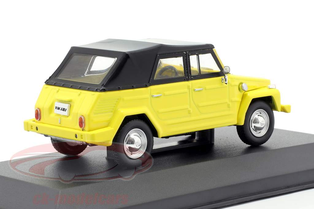 Volkswagen VW 181 The Thing year 1971 yellow / black 1:43 Solido