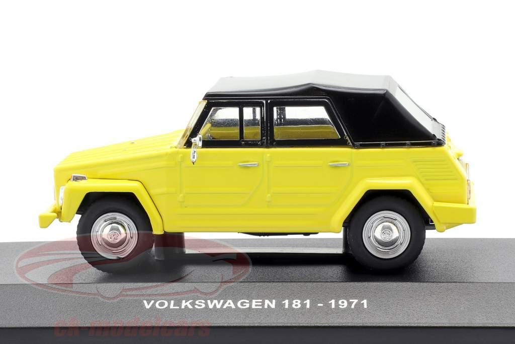 Volkswagen VW 181 The Thing Baujahr 1971 gelb / schwarz 1:43 Solido