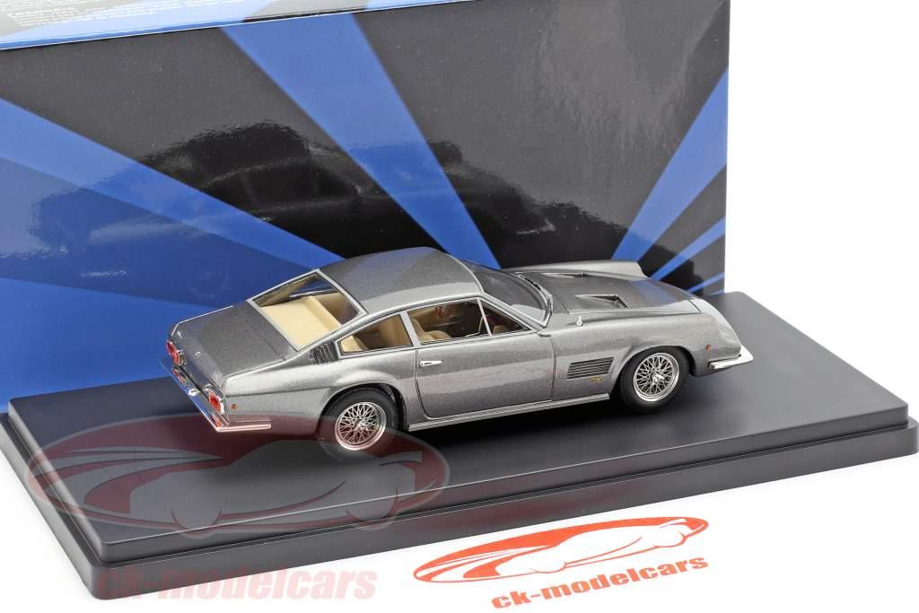 Monteverdi 375 S High Speed ano de construção 1968 cinza prata 1:43 AutoCult