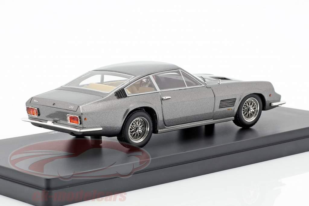 Monteverdi 375 S High Speed anno di costruzione 1968 grigio argento 1:43 AutoCult
