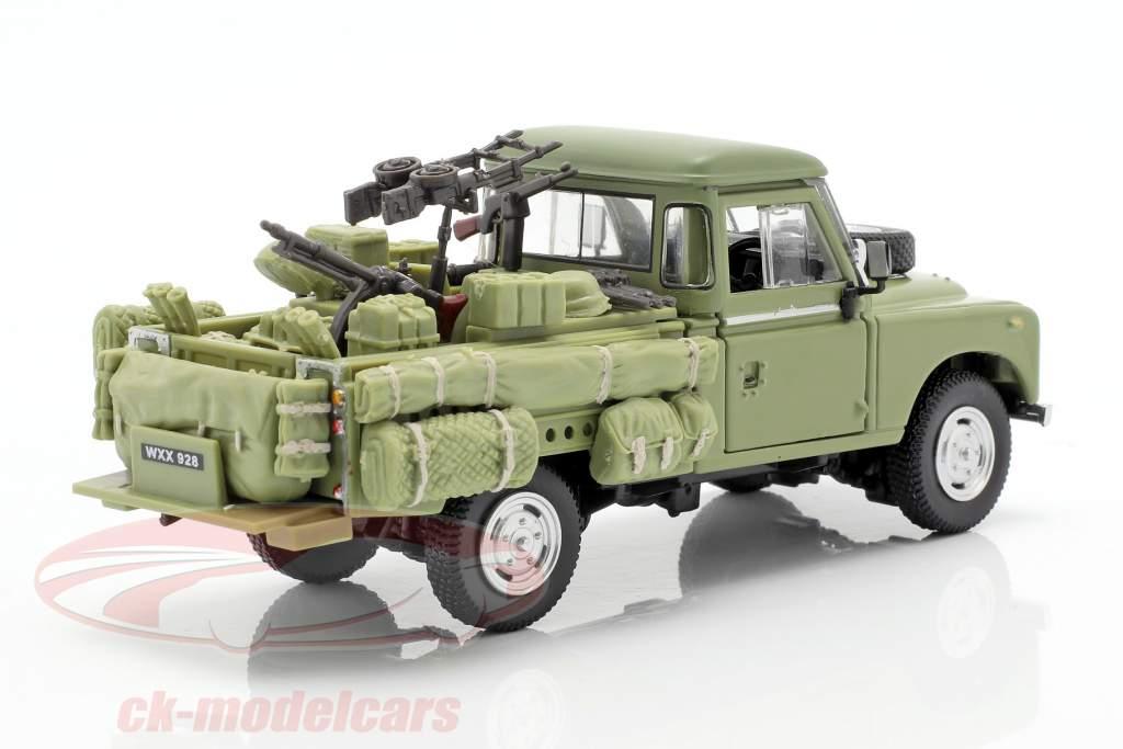 Land Rover Series III 109 veicolo militare oliva 1:43 Cararama