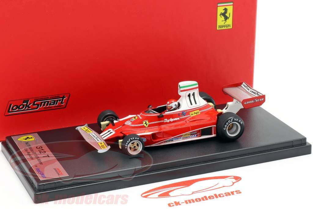 Clay Regazzoni Ferrari 312T #11 Vinder italiensk GP formel 1 1975 1:43 LookSmart