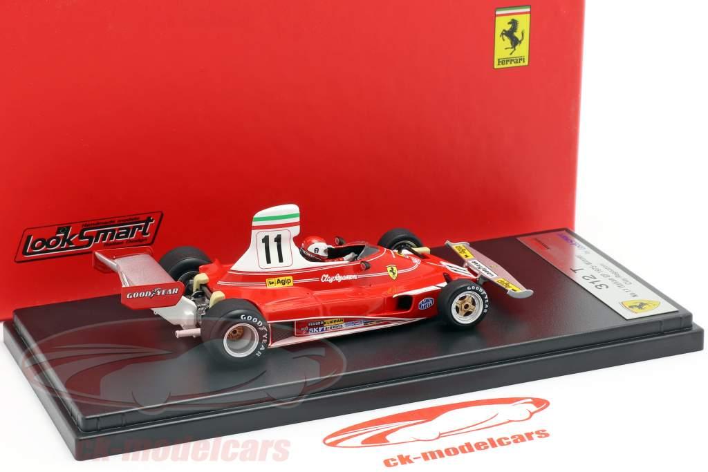 Clay Regazzoni Ferrari 312T #11 vencedor italiano GP fórmula 1 1975 1:43 LookSmart