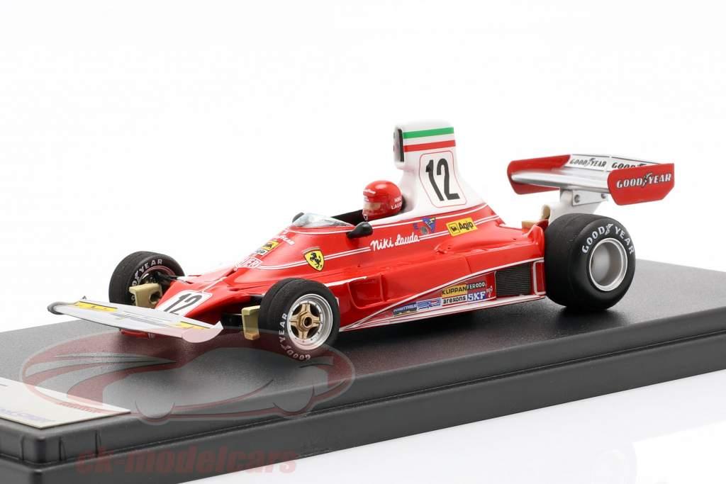 Niki Lauda Ferrari 312T #12 3rd italian GP World Champion F1 1975 1:43 LookSmart