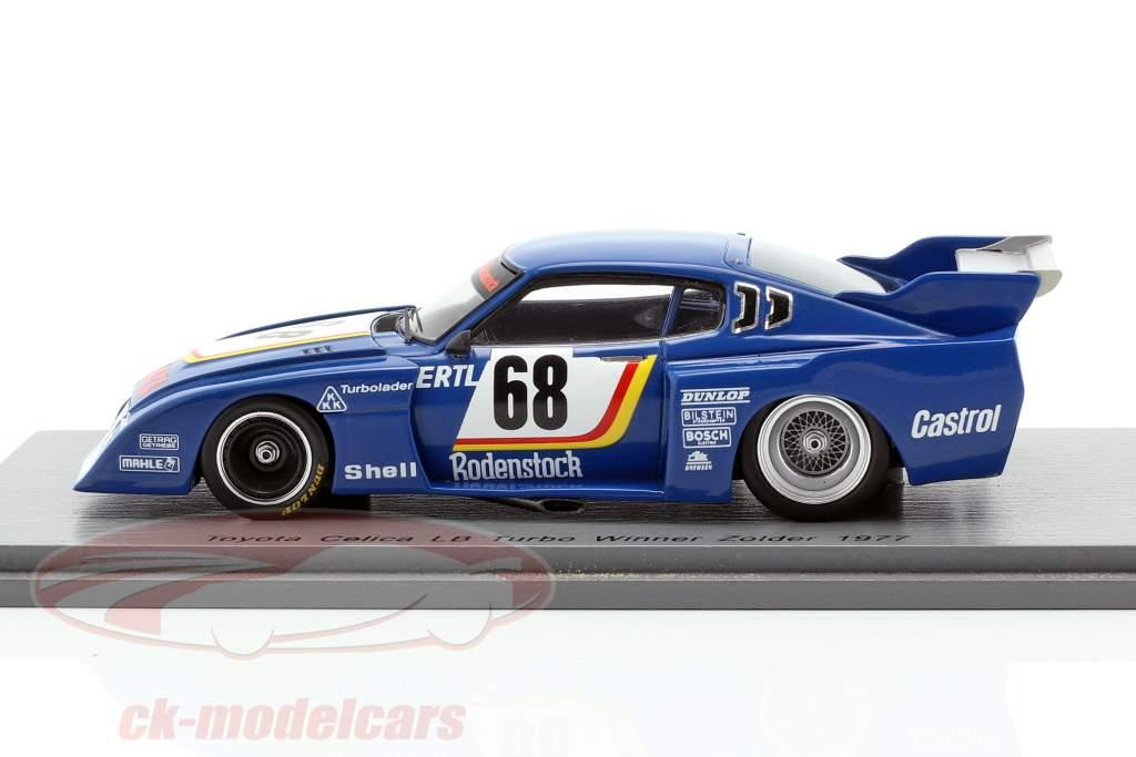 Toyota Celica LB Turbo #68 ganador ADAC Trophy Zolder 1977 Harald Ertl 1:43 Spark