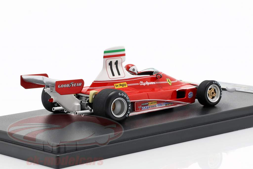 Clay Regazzoni Ferrari 312T #11 vincitore italiano GP formula 1 1975 1:43 LookSmart