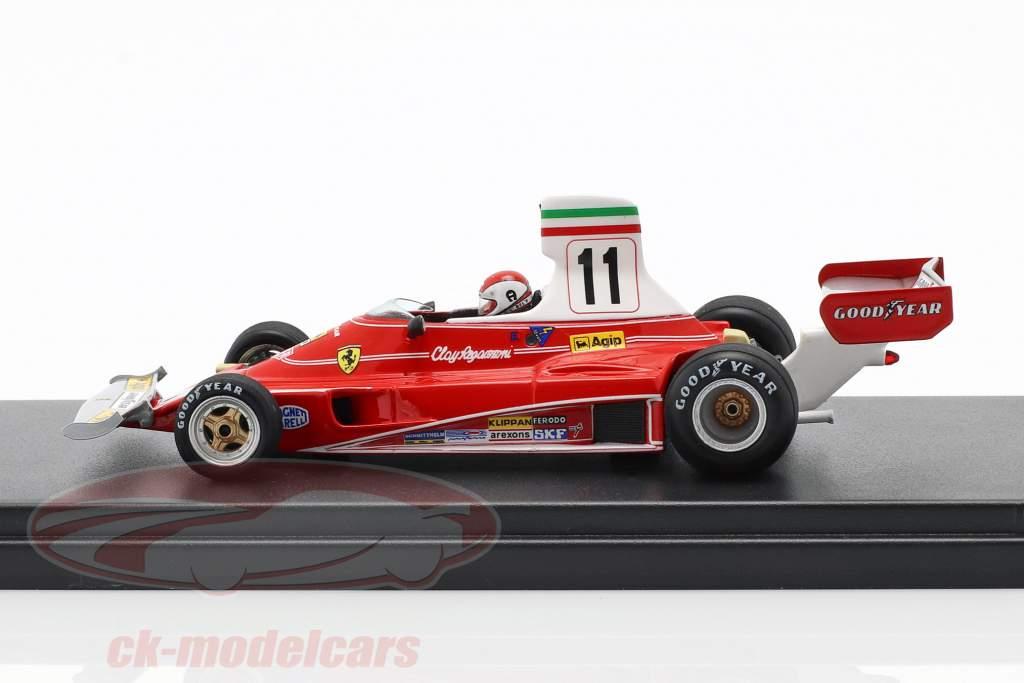 Clay Regazzoni Ferrari 312T #11 gagnant italien GP formule 1 1975 1:43 LookSmart