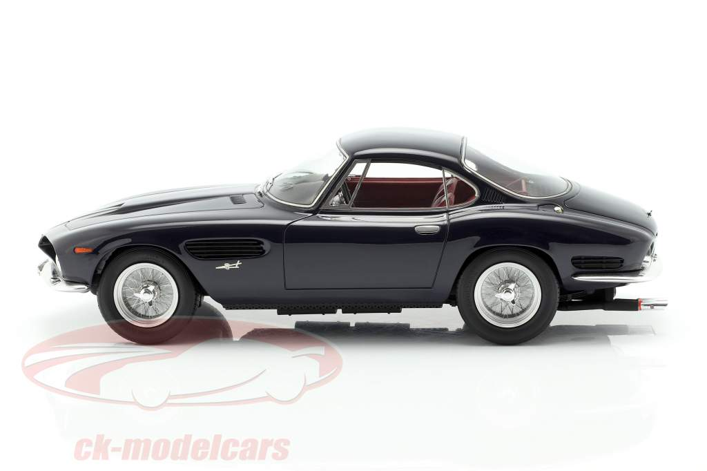 Ferrari 250GT Berlinetta Passo Corto Lusso Bertone year 1962 dark blue 1:18 Matrix