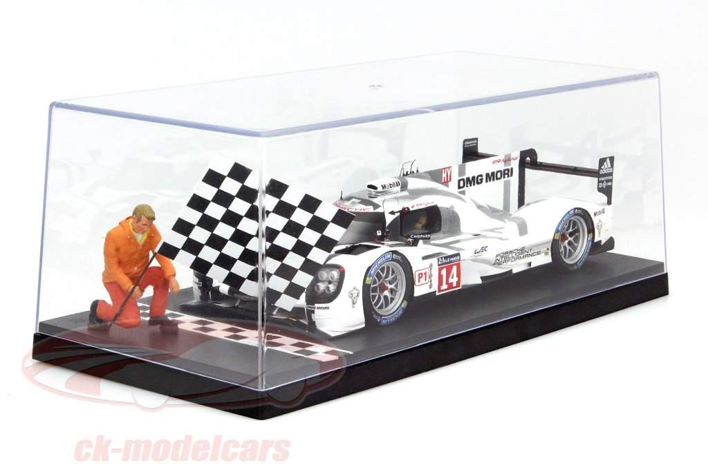 6 pièces boîtes pour voitures miniatures Start / Finish Line 1:18 Triple9