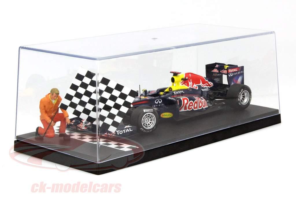 1 pièce boîte pour voitures miniatures Start / Finish Line 1:18 Triple9