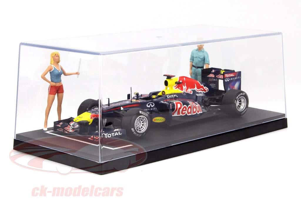 6 pièces boîtes pour voitures miniatures grille de départ 1:18 Triple9