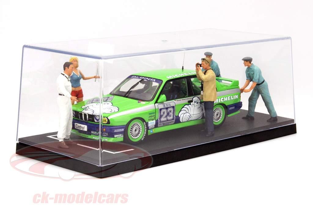 1 pièce boîte pour voitures miniatures grille de départ 1:18 Triple9