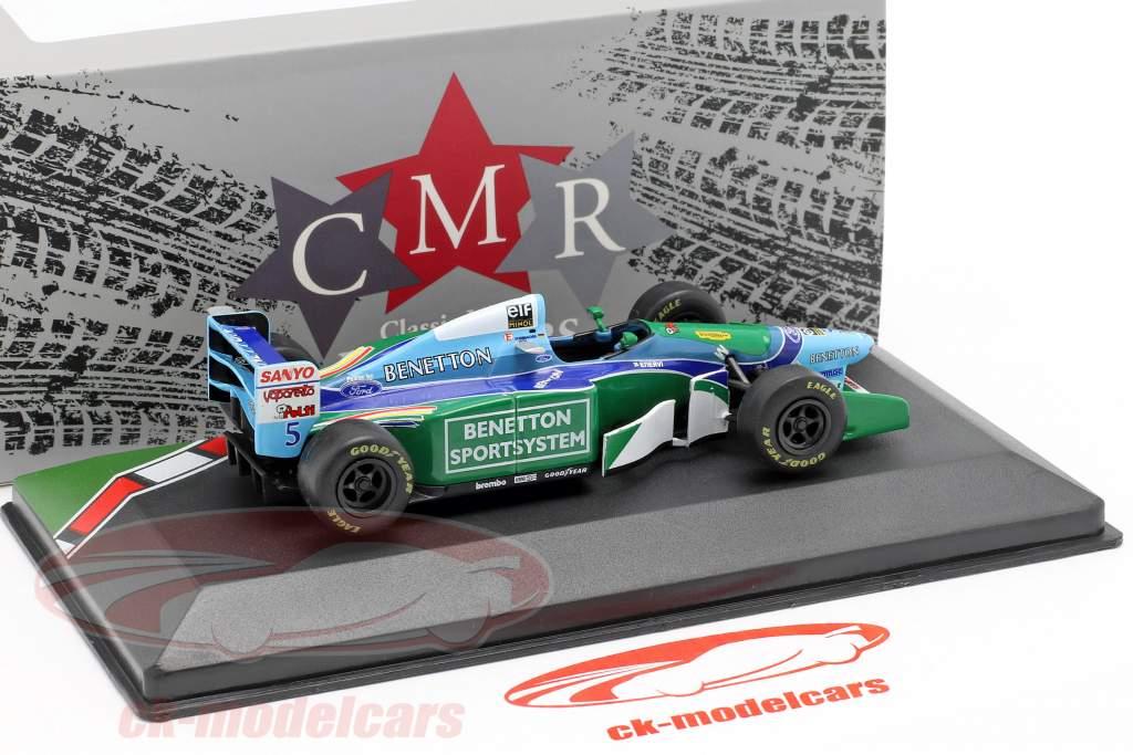 Michael Schumacher Benetton B194 #5 champion du monde formule 1 1994 1:43 CMR