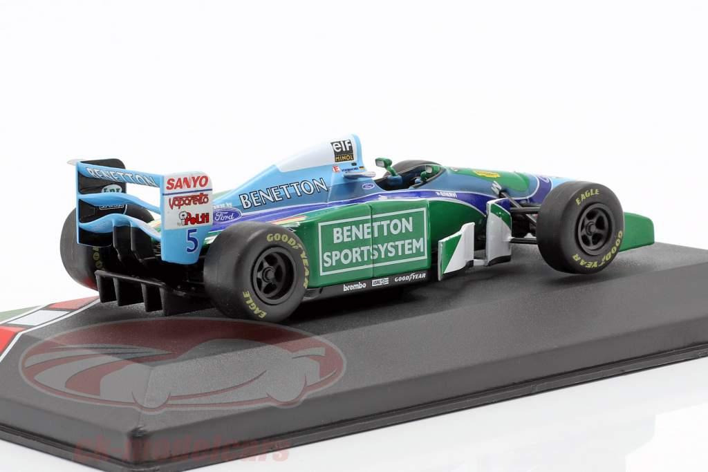 Michael Schumacher Benetton B194 #5 campione del mondo formula 1 1994 1:43 CMR