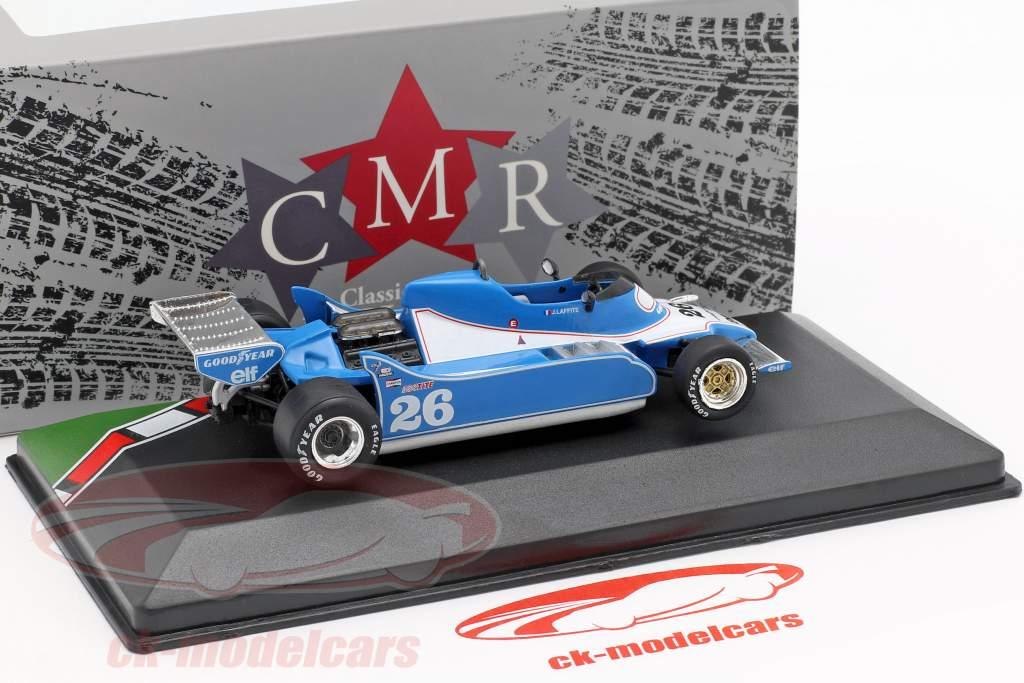 Jacques Laffite Ligier JS11 #26 formule 1 1979 1:43 CMR