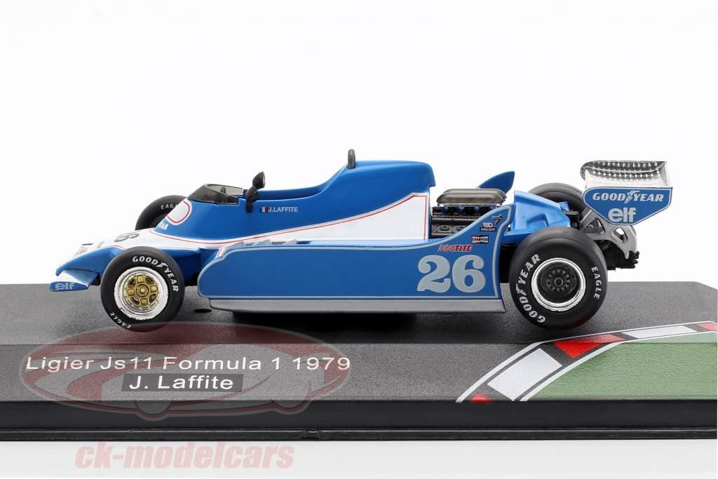 Jacques Laffite Ligier JS11 #26 Formel 1 1979 1:43 CMR