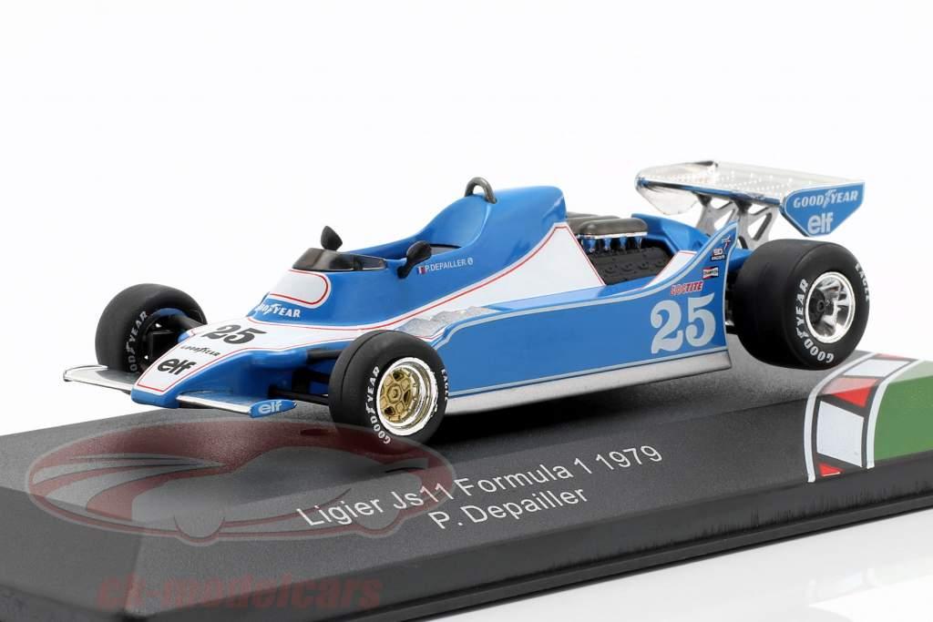 Patrick Depailler Ligier JS11 #25 Formel 1 1979 1:43 CMR