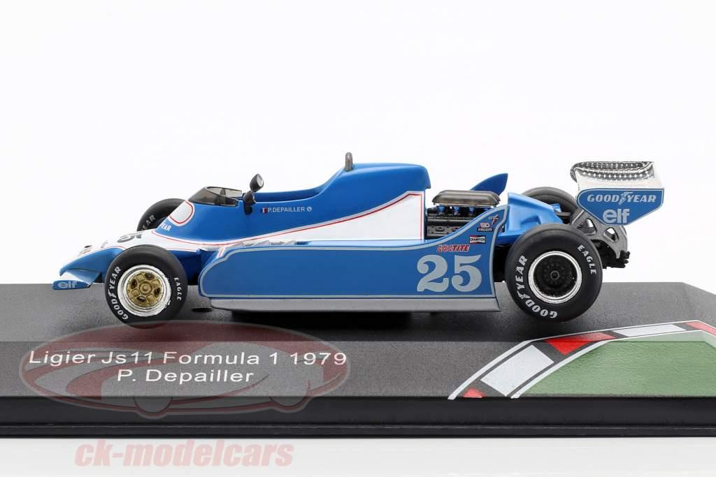 Patrick Depailler Ligier JS11 #25 fórmula 1 1979 1:43 CMR