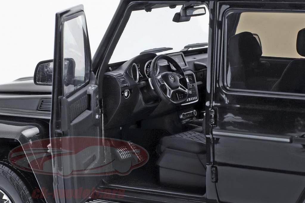 Mercedes-Benz G-Klasse 4x4² obsidian schwarz 1:18 Almost Real