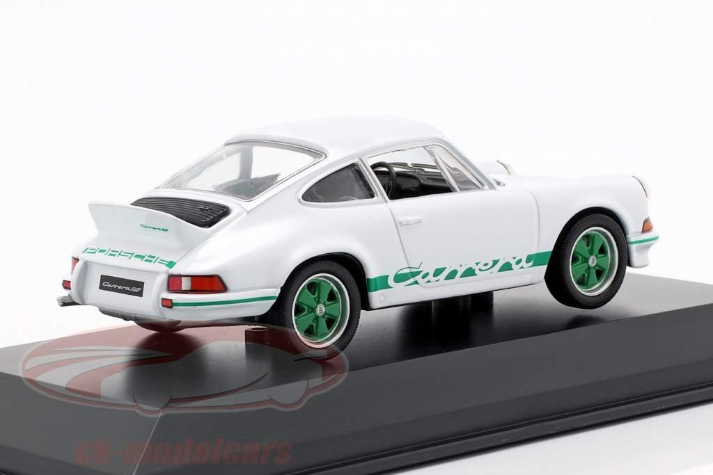 Porsche 911 Carrera RS Ano 1973 branco 1:43 Welly