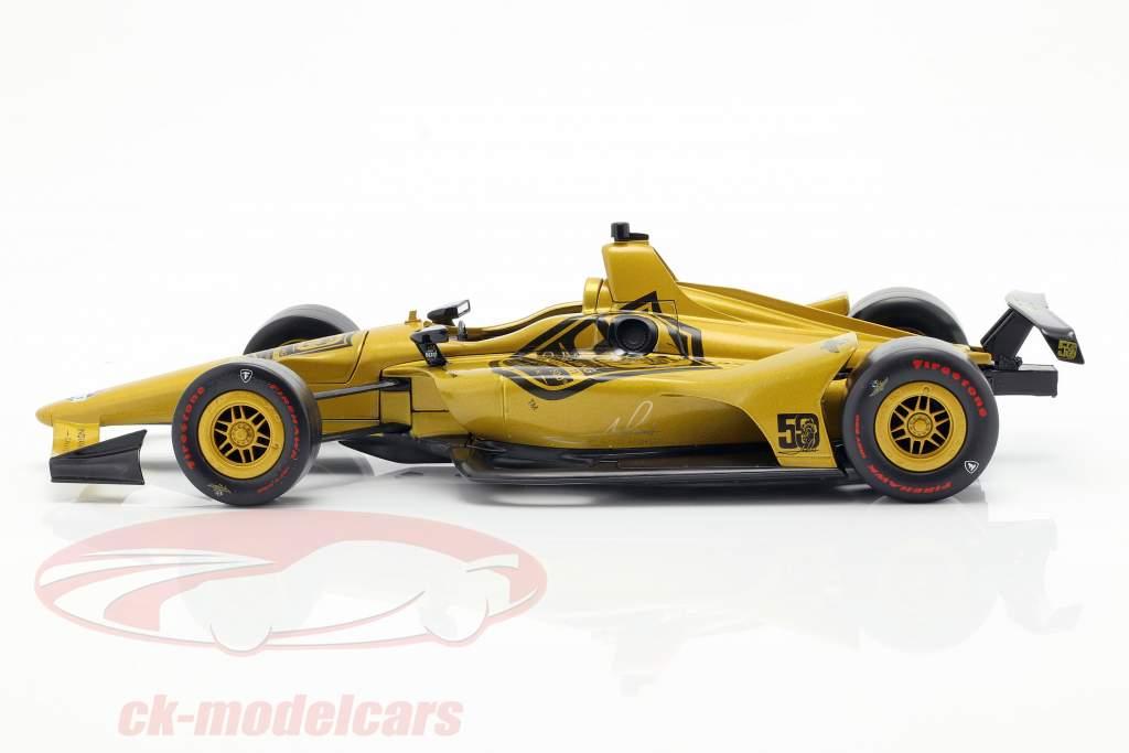 Mario Andretti 50a aniversario Indy 500 campeón 1969 Dallara Universal Aero Kit 1:18 Greenlight