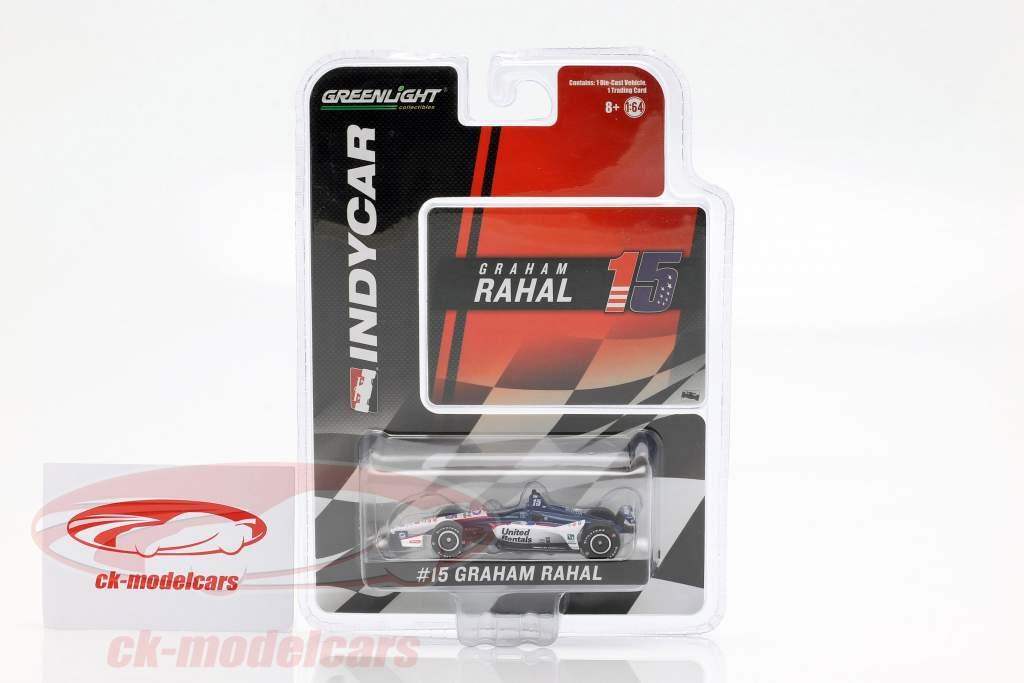 Graham Rahal Honda #15 Indycar Series 2019 Rahal Letterman Lanigan Racing 1:64 Greenlight