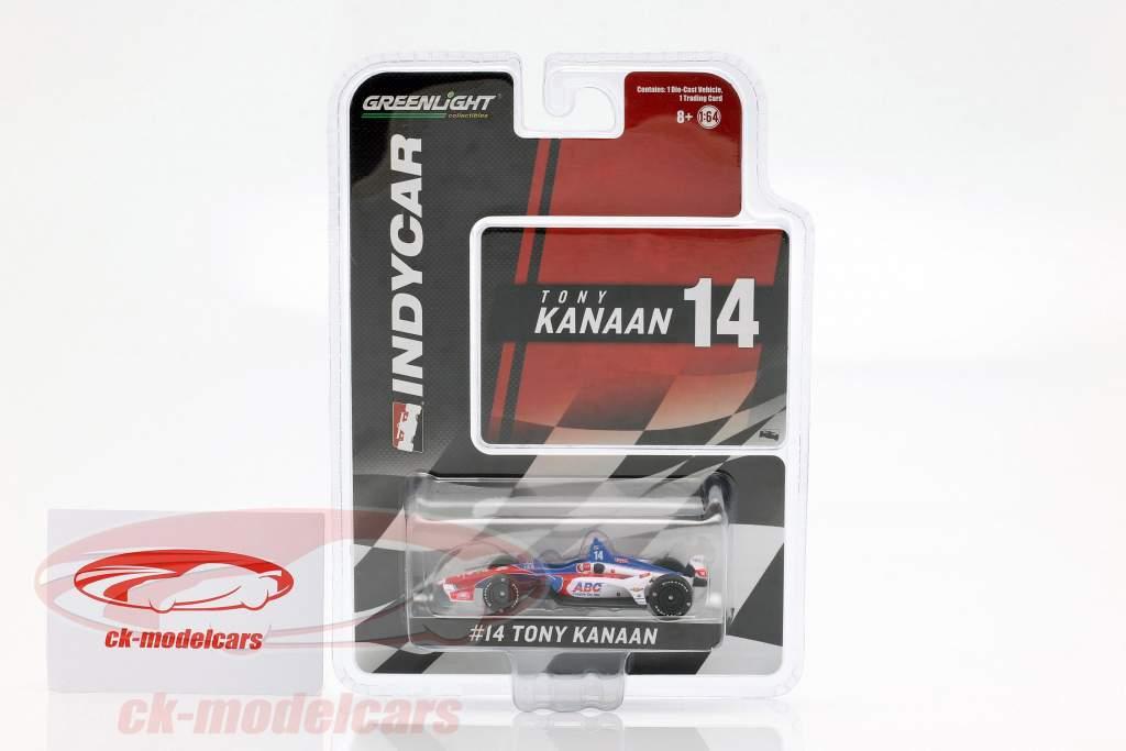 Tony Kanaan Chevrolet #14 Série Indycar 2019 AJ Foyt Enterprises 1:64 Greenlight