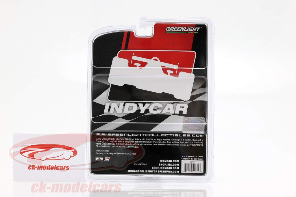 International DuraStar 4400 wrecker Indycar Series 2019 1:64 Greenlight
