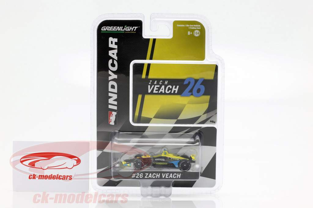 Zach Veach Honda #26 Indycar Series 2019 Andretti Autosport 1:64 Greenlight
