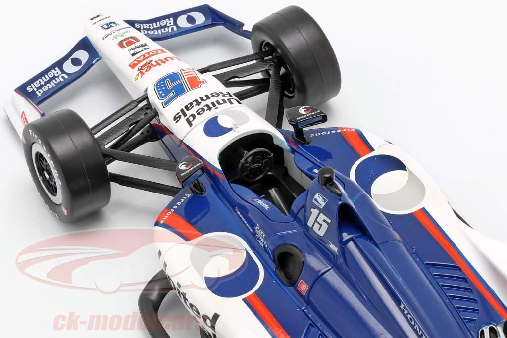 Graham Rahal Honda #15 Indycar Series 2019 Rahal Letterman Lanigan Racing 1:18 Greenlight