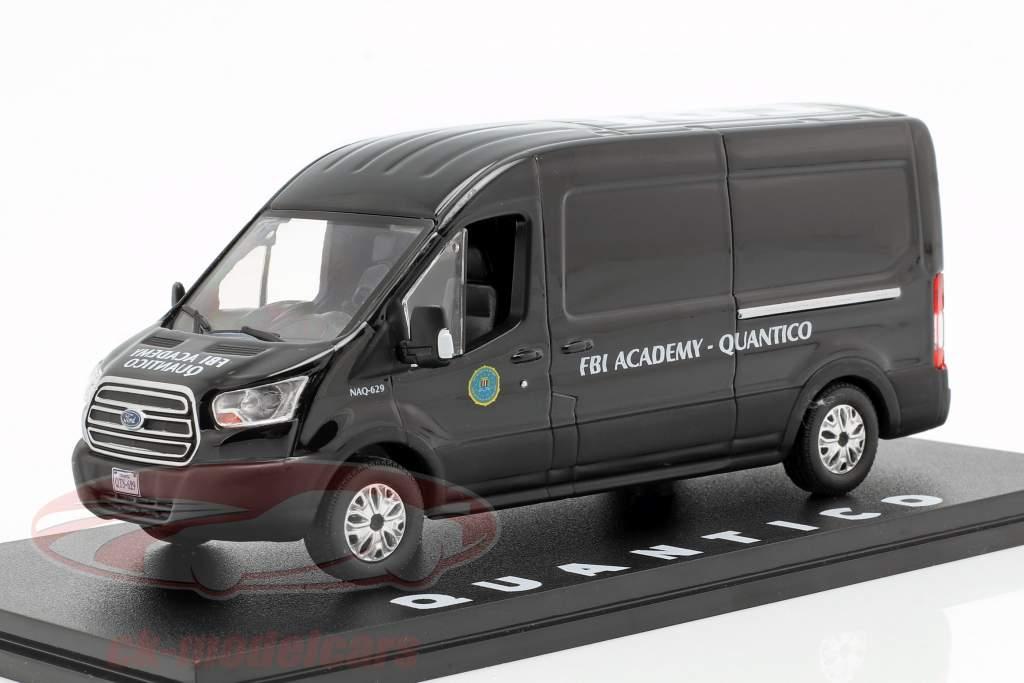 Ford Transit FBI Academy Opførselsår 2015 TV-serie Quantico (2015-2018) sort 1:43 Greenlight