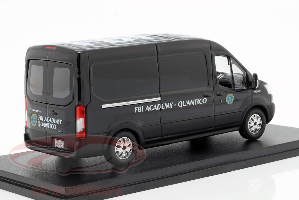 Ford Transit FBI Academy année de construction 2015 Série TV Quantico (2015-2018) noir 1:43 Greenlight