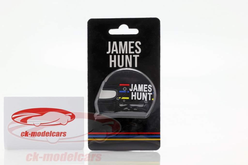 James Hunt McLaren M23 verdensmester formel 1 1976 køleskab Magnet hjelm