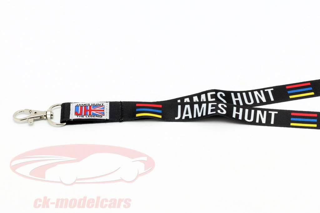 James Hunt McLaren M23 champion du monde formule 1 1976 cordon casque