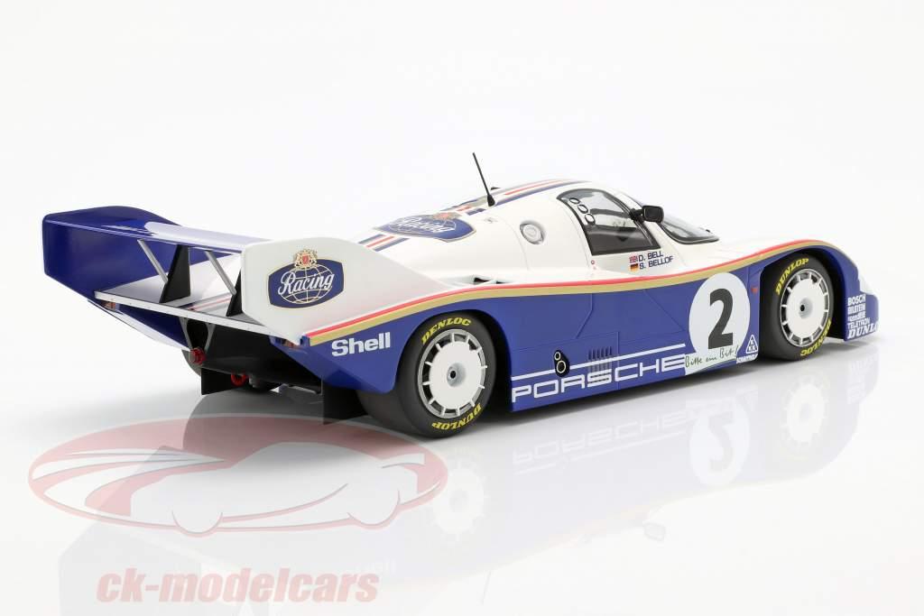 Porsche 956K #2 winnaar 1000km Nürburgring 1984 Bellof, Bell 1:18 Minichamps