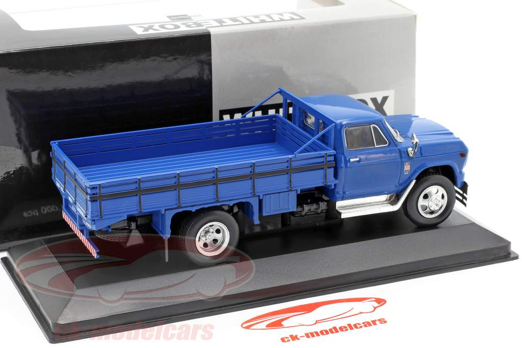 Chevrolet C60 Truck year 1960 blue 1:43 WhiteBox