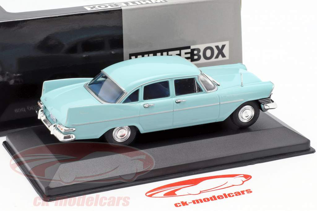 Plymouth Savoy Sedan Baujahr 1959 hellblau 1:43 WhiteBox