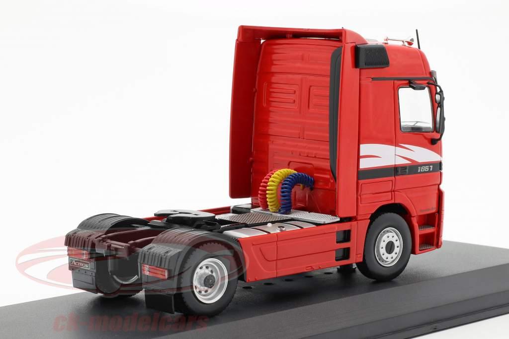Mercedes-Benz Actros MP 1 camion anno di costruzione 1995 rosso 1:43 Ixo
