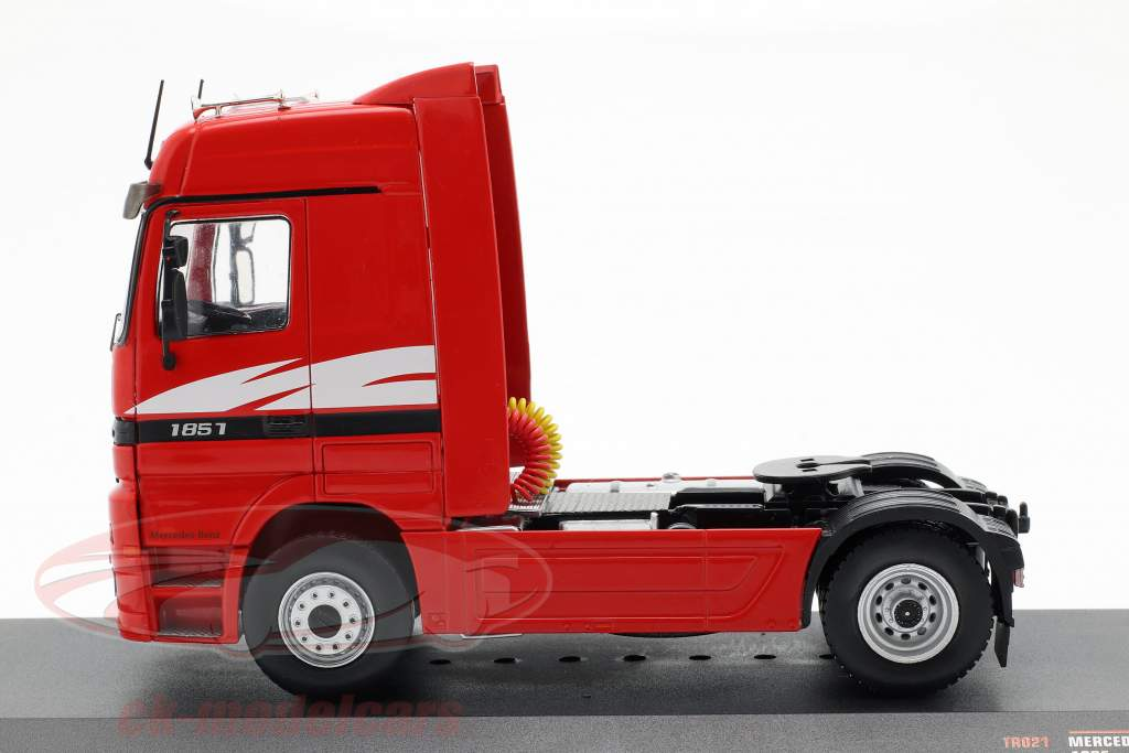 Mercedes-Benz Actros MP 1 camión año de construcción 1995 rojo 1:43 Ixo