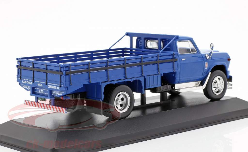 Chevrolet C60 vrachtwagen Bouwjaar 1960 blauw 1:43 WhiteBox