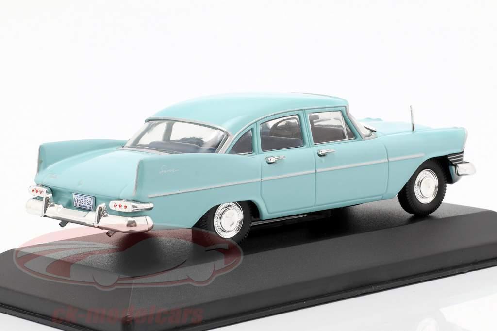 Plymouth Savoy sedan Bouwjaar 1959 lichtblauw 1:43 WhiteBox