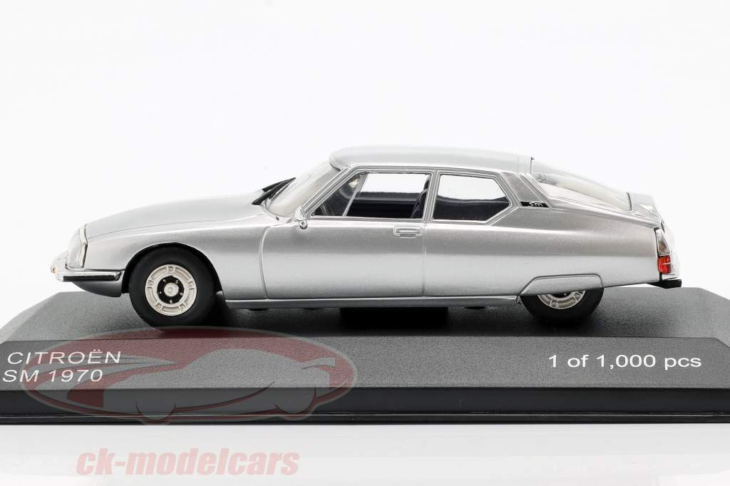 Citroen SM Opførselsår 1970 sølv 1:43 WhiteBox