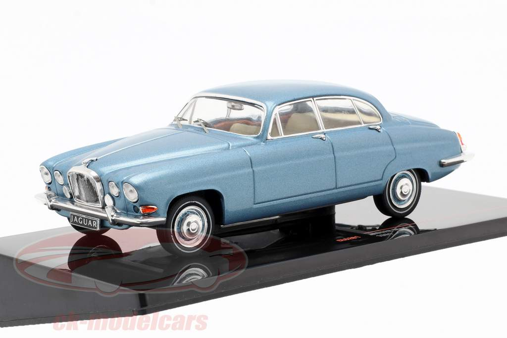 Jaguar Mark X año de construcción 1961 azul metálico 1:43 Ixo