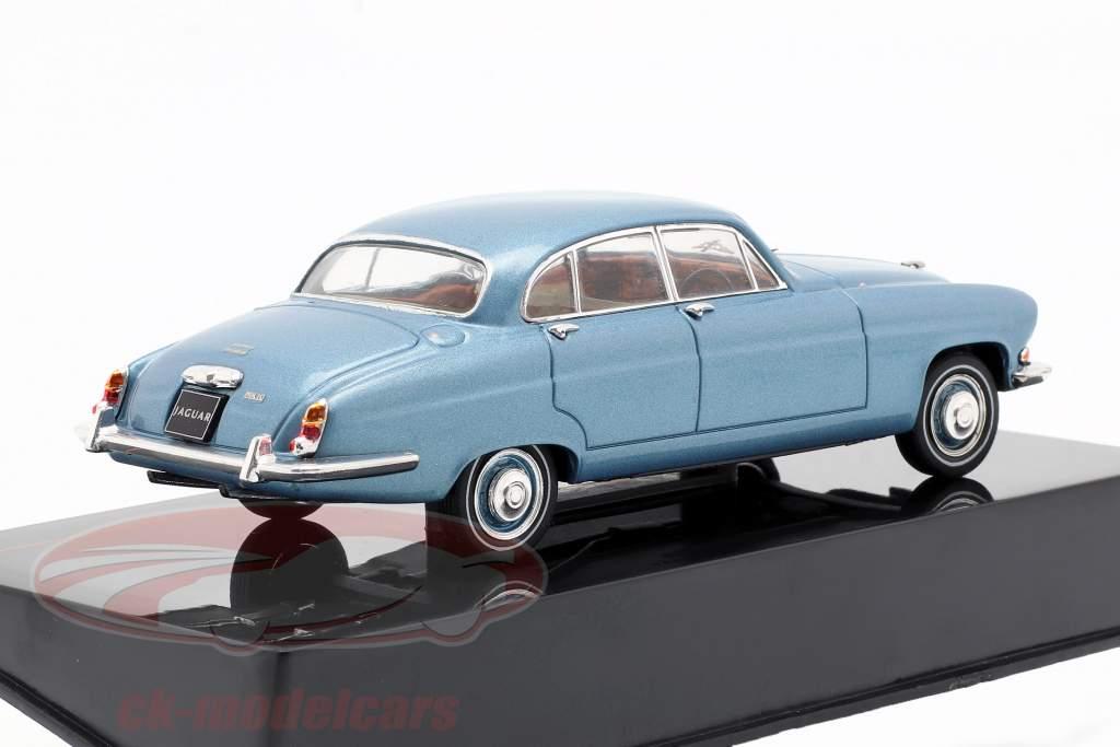 Jaguar Mark X année de construction 1961 bleu métallique 1:43 Ixo