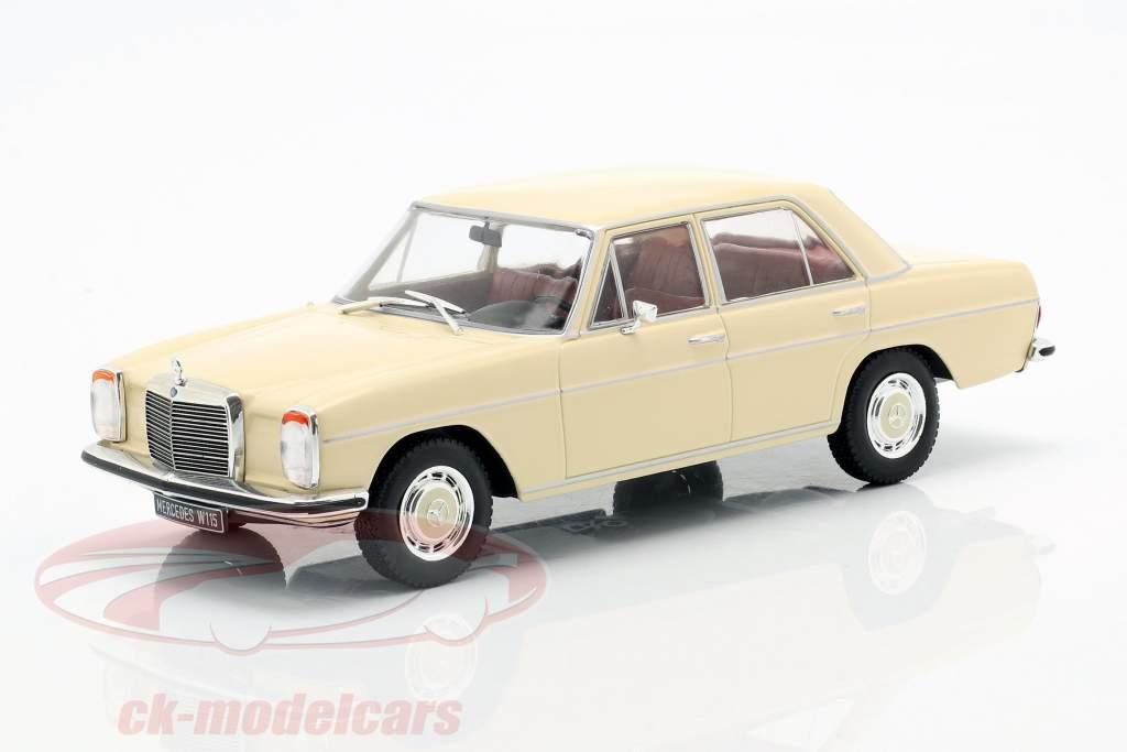 Mercedes-Benz 200D (W115) year 1968 beige 1:24 WhiteBox