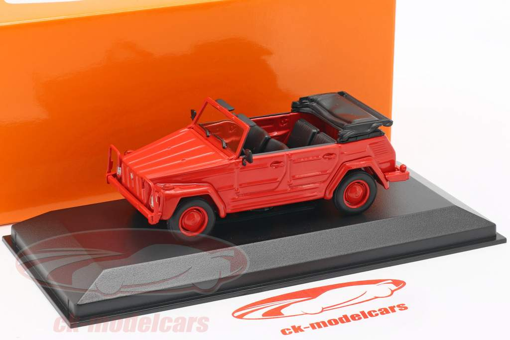 Volkswagen VW 181 Opførselsår 1979 rød 1:43 Minichamps