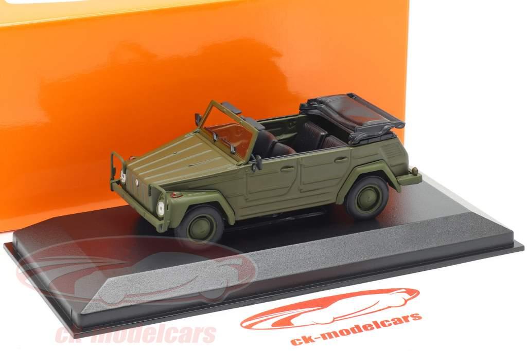 Volkswagen VW 181 Bouwjaar 1979 olijf 1:43 Minichamps