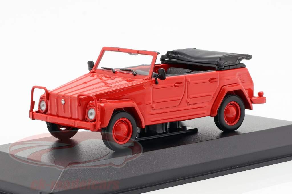 Volkswagen VW 181 année de construction 1979 rouge 1:43 Minichamps