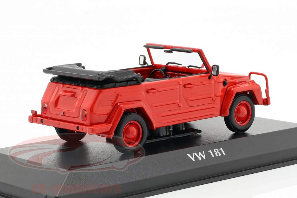 Volkswagen VW 181 año de construcción 1979 rojo 1:43 Minichamps