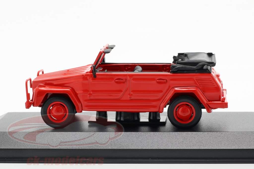 Volkswagen VW 181 Bouwjaar 1979 rood 1:43 Minichamps